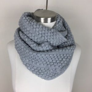 NWOT Gray Infinity Scarf
